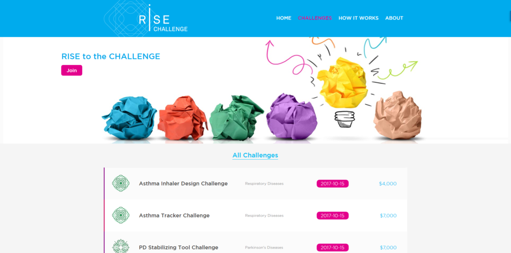 RISE Challenge - Challenges