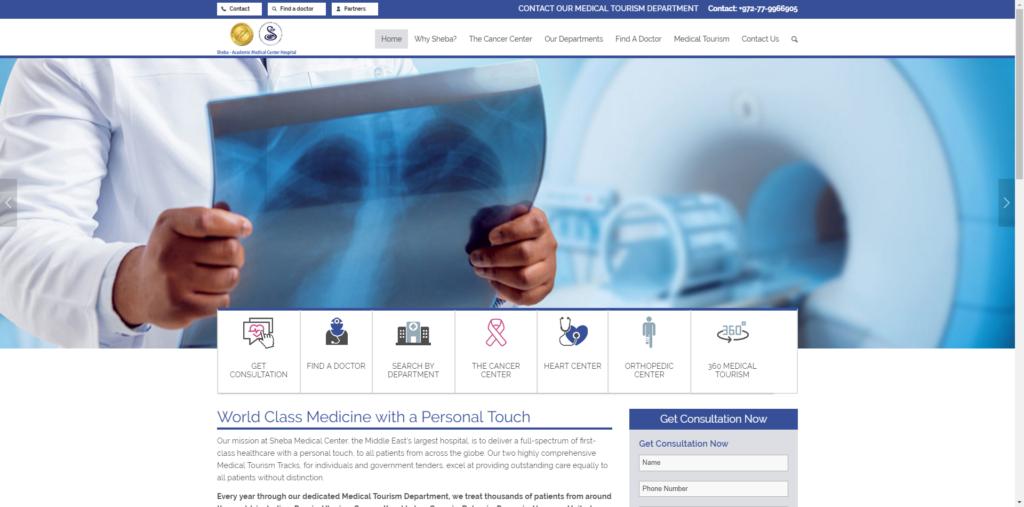 Sheba Medical Center - iLogic Internet Marketing Solutions